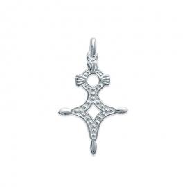 Pendentif croix d'Agadès en argent