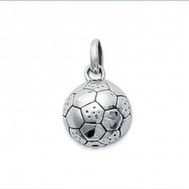 Pendentif ballon de football en argent