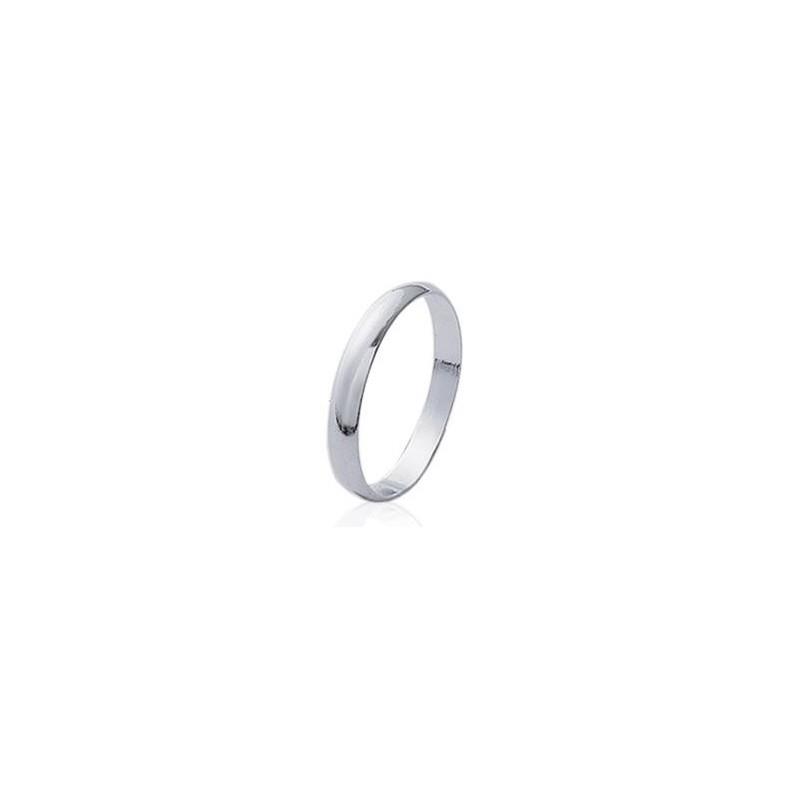 anneau en argent 3mm
